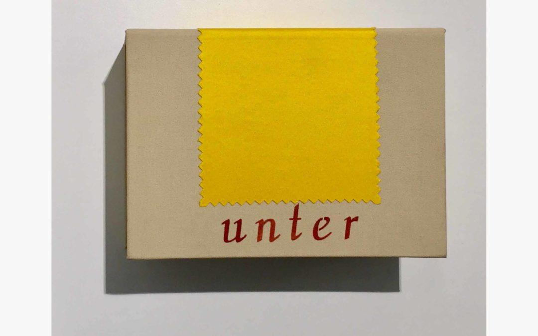 unter / under